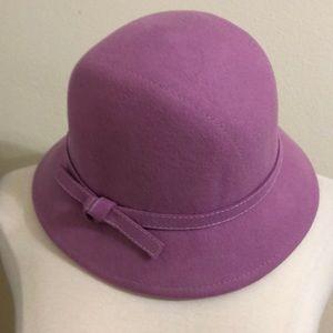 Beautiful violet hat
